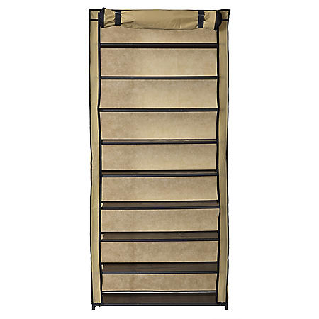Muscle Rack 10-Level Shoe Rack With Cover