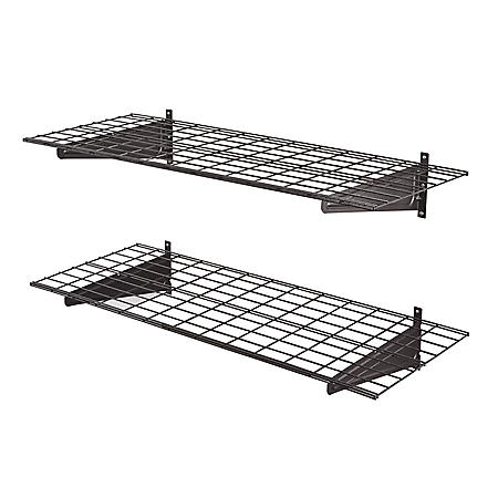 "Muscle Rack Heavy-Duty 48"" Wall Shelf (2 Pk.)"