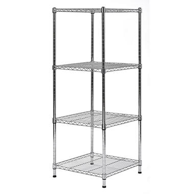 Muscle Rack 4-Level Wire Shelving Unit (18