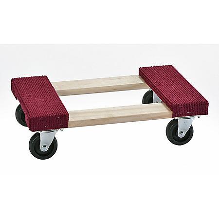 Muscle Rack 1000-lb. Capacity Wood Furniture Dolly