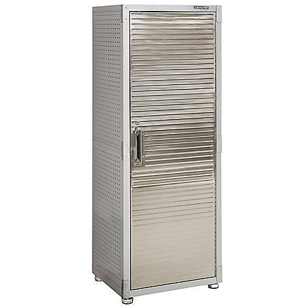 Seville Classics Ultrahd 1 Door Lockable Storage Cabinet
