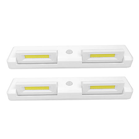 Seville Classics Adjustable Motion-Activated LED Light (2 Pk.)