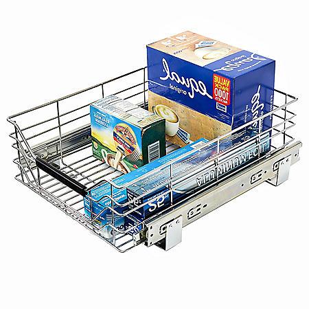 Shelf & Cabinet Sliding Drawer Organizer