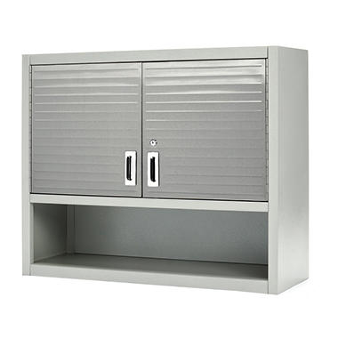 Nice Seville Classics UltraHD Wall Cabinet With Open Shelf