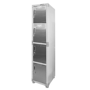ten laptop lockers locker door small metal doors