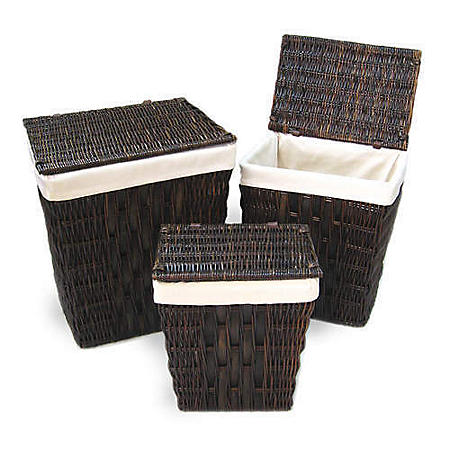 Willow Hamper Set - 3 pcs.