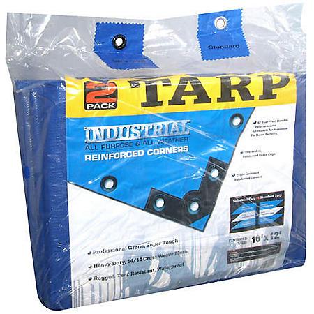 Industrial Tarp - 2 pack
