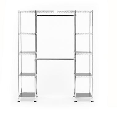 Seville classics expandable closet room organizer