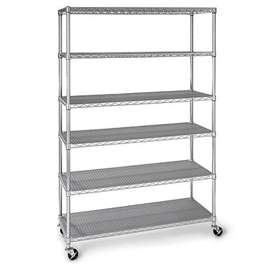 Charming Memberu0027s Mark 6 Level Commercial Storage Shelving