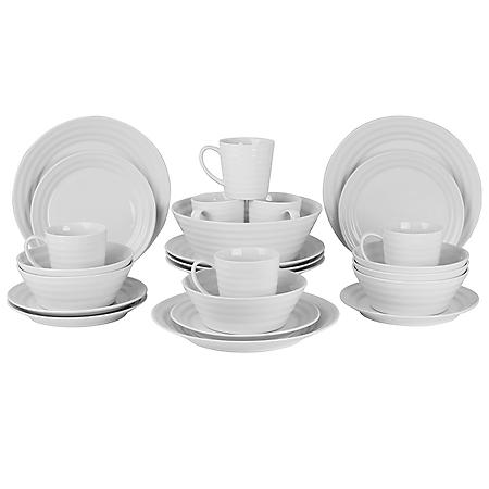 Swing 25-Piece Dinnerware Set