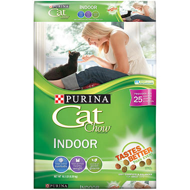 Purina Cat Chow Indoor Formula - 18.5 lbs.