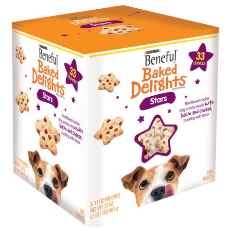 Beneful Baked Delights Stars Dog Treats - 33 oz.