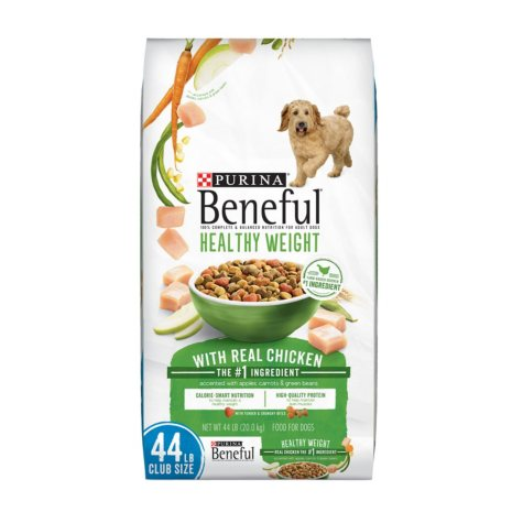 Purina Beneful Healthy Weight With Real Chicken Adult Dry Dog Food (44 lbs.)