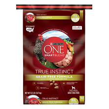 Purina ONE SmartBlend True Instinct Grain-Free Formula Nutrient-Dense with Real Chicken and Sweet Potato Adult Dog Food (12.5 lbs.)
