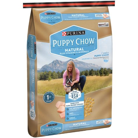 Purina Puppy Chow Natural with Farm-Raised Chicken Dry Puppy Food (15.5 lbs.)