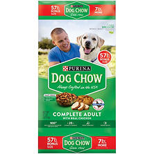 Purina Dog Chow Complete Adult Chicken Dry Dog Food (57 lbs.)