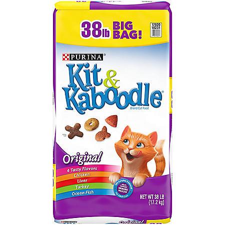 Purina Kit & Kaboodle Original Adult Dry Cat Food (38 lbs.)