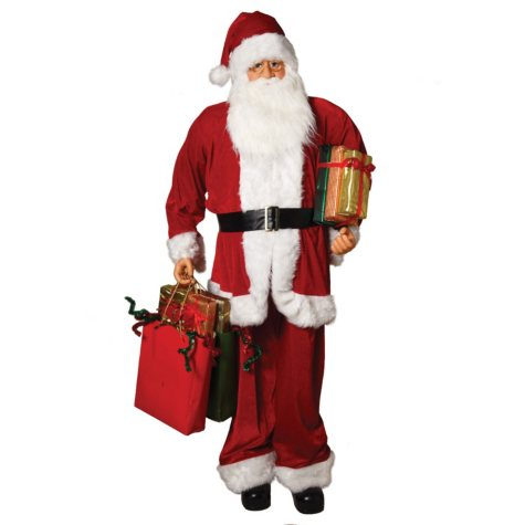 "72"" Traditional Standing Santa"