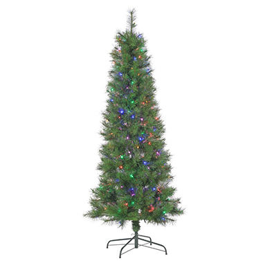 65 multicolored led fiber optic christmas tree - Led Fiber Optic Christmas Tree