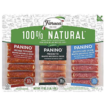 Fiorucci Pork Panino Variety Pack (24 ct.)