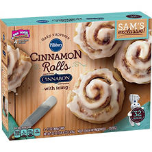 Pillsbury Grands! Flaky Supreme Cinnamon Rolls with Icing (32 ct.)