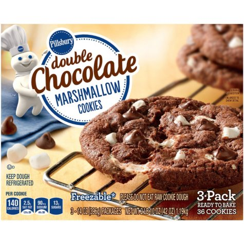 Pillsbury Double Chocolate Marshmallow Cookie (3 pk.)