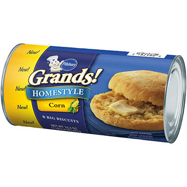 Pillsbury Grands Corn Biscuits - 32 ct.