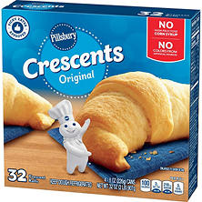 Pillsbury Original Crescent Rolls (8 oz. cans, 4 pk.)