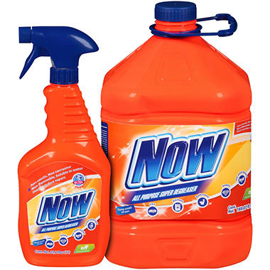 Now All Purpose Super Cleaner Value Pack - 204.27 fl. oz.