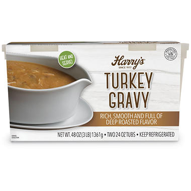Harry's Roasted Turkey Gravy (3 lbs.)