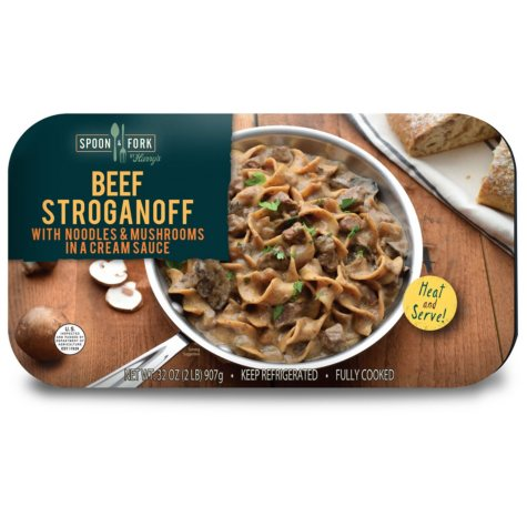 Spoon & Fork Beef Stroganoff (2 lbs.)