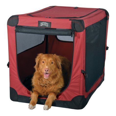 """Nature's Miracle 36"""" Dog Port-A-Crate"""