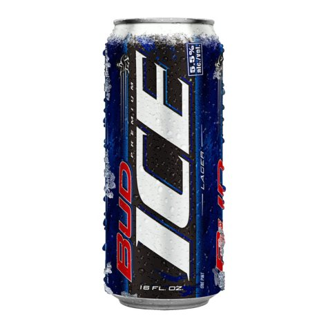 Bud Ice Beer (16 fl. oz. can, 24 pk.)