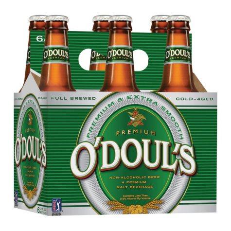 O'Doul's Non-Alcoholic Beer (12 fl. oz. bottle, 6 pk.)