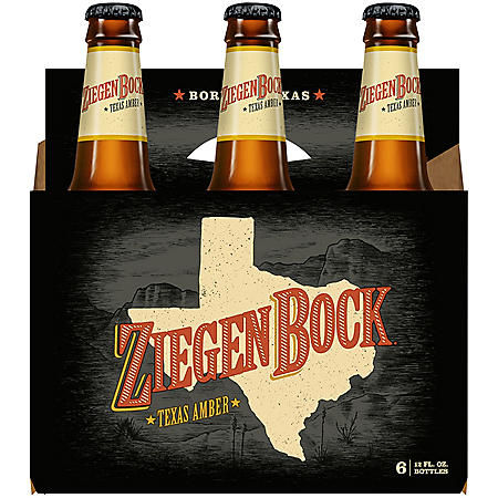 Ziegenbock Texas Amber (12 fl. oz. bottle, 6 pk.)