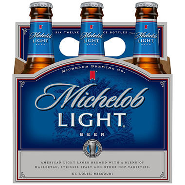 Michelob Light Beer (12 fl. oz. bottle, 6 pk.)