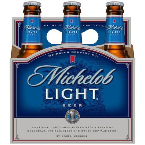 Michelob Light Beer (12 fl. oz. bottle, 6 pk.)