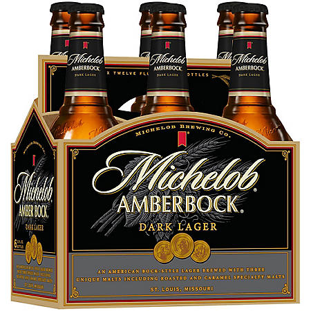 MICHELOB AMBER 6 / 12 OZ BOTTLES