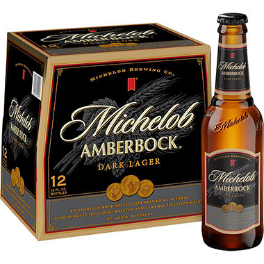 Michelob Amberbock Dark Lager Beer (12 fl. oz. bottle, 12 pk.)