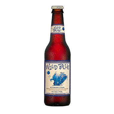 WILD BLUE 6 / 12 OZ BOTTLES