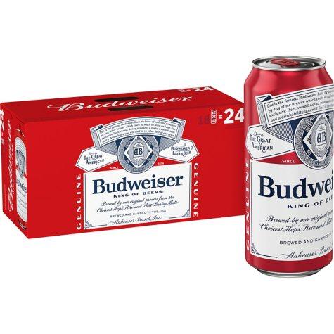 Budweiser (16 fl. oz. can, 18 pk.)