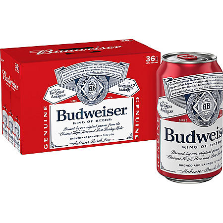 Budweiser (12 fl. oz. can, 36 pk.)