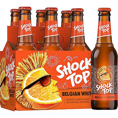 SHOCK TOP ALE 6 / 12 OZ BOTTLES