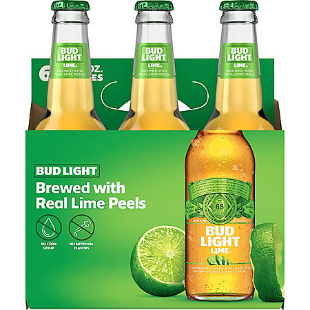 Bud Light Lime Beer (12 fl. oz. bottle, 6 pk.)