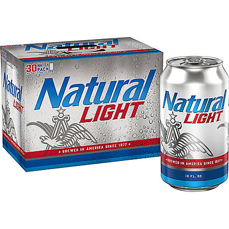 NATURAL LIGHT 30 / 12 OZ CANS