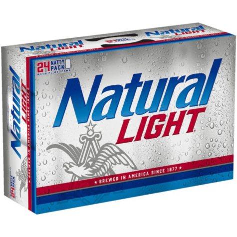 Natural Light Beer (12 fl. oz. cans, 24 pk.)