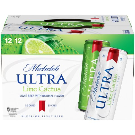 Michelob Ultra Lime Cactus Beer (12 fl. oz. can, 12 pk.)