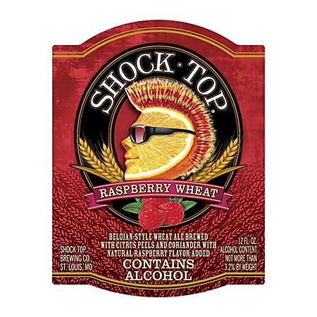 SHOCK TOP RASPBERRY