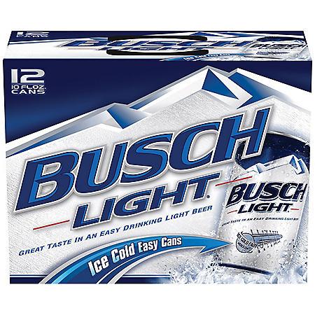 Busch Light Beer (10 fl. oz. can, 24 pk.)
