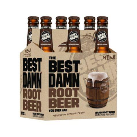 Best Damn Root Beer (12 fl. oz. bottle, 6 pk.)